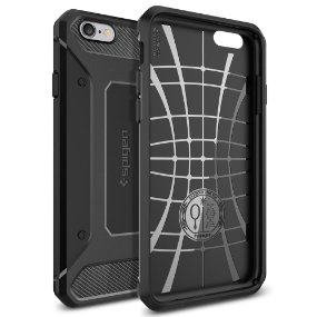 reputable site d028a a67d5 Spigen Capsule Ultra Rugged Case Designed for iPhone 6S Plus / iPhone 6  Plus - Black SGP11643