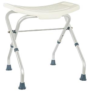 lo sgabello per vasca da bagno pieghevole coniuga sicurezza e comodit nella vasca da bagno o nella doccia la superficie del sedile l 50cm l 30cm dalla