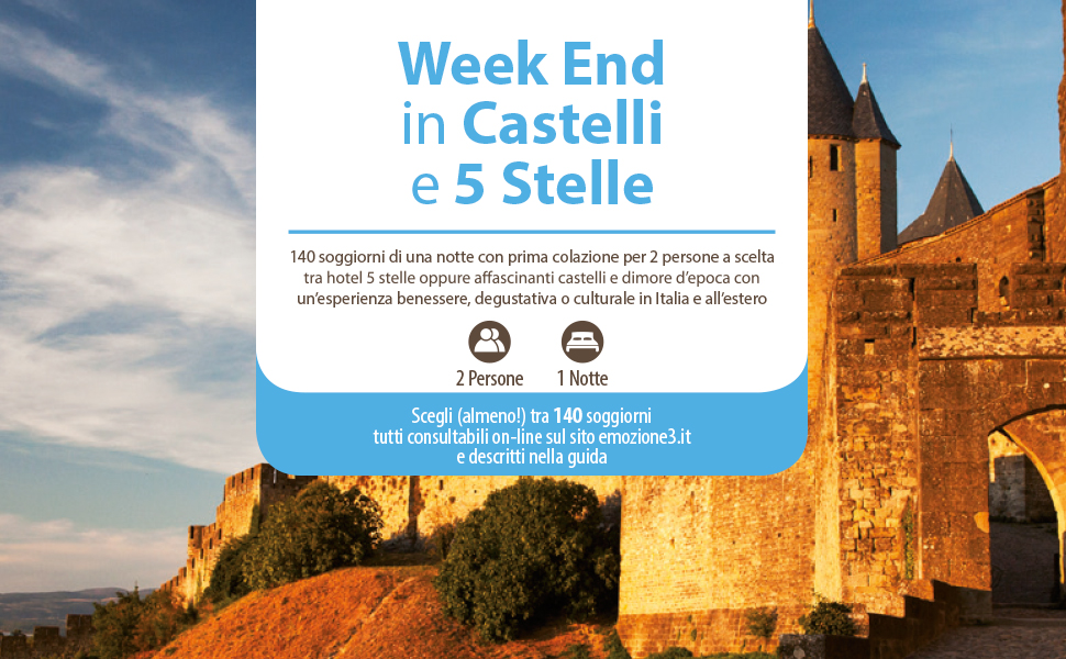 Emozione3 - WEEKEND IN CASTELLI E 5 STELLE - Cofanetto Regalo ...