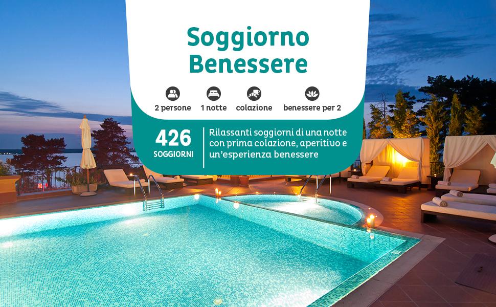Emozione3 - SOGGIORNO BENESSERE - Cofanetto Regalo - Soggiorni ...