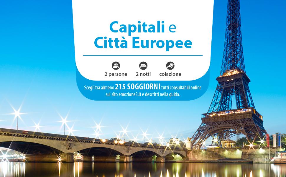 Emozione capitali e citta europee cofanetto regalo