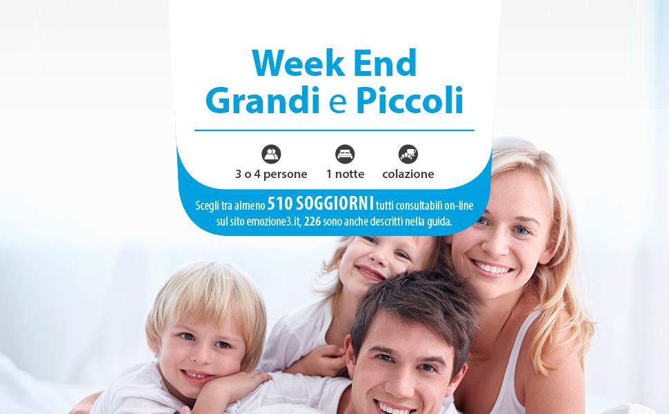 Cofanetto Regalo Per Famiglia Con Bambini.Emozione3 Week End Grandi E Piccoli Cofanetto Regalo