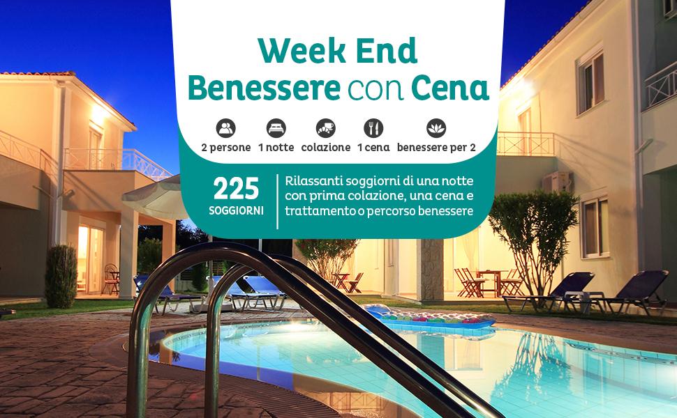 Emozione3 - WEEK END BENESSERE CON CENA - Cofanetto Regalo ...