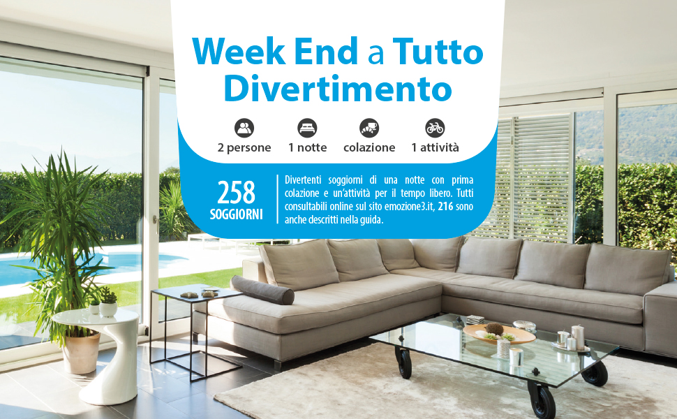 Emozione3 -WEEK END A TUTTO DIVERTIMENTO - Cofanetto Regalo ...