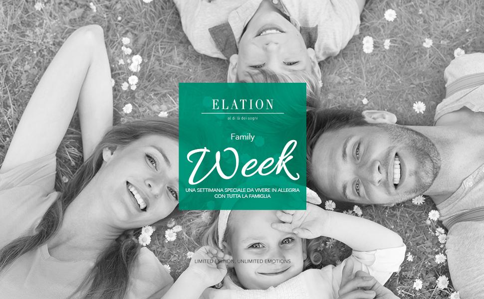 Cofanetto Regalo Per Famiglia Con Bambini.Elation Family Week Cofanetto Regalo Una Settimana Per