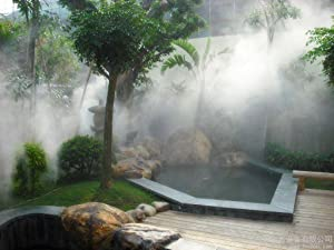 AGPtek Patio Misting Cooling System Offers Perfect Low Cost Solution For  Your Backyard Cooling Needs. Completely Pre Assembled System Delivers Very  Fine ...