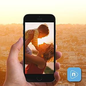 Amazon.com : Nixplay Seed 10 WiFi Digital Photo Frame - Black : Camera