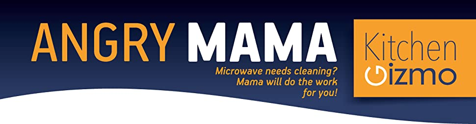 how to use the angry mama microwave cleaner