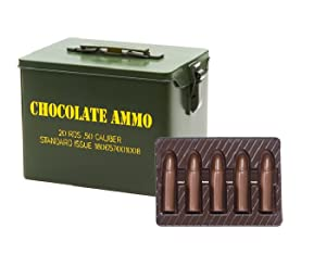 Amazon.com : Chocolate Bullet-Military Style Collectors Tin ...