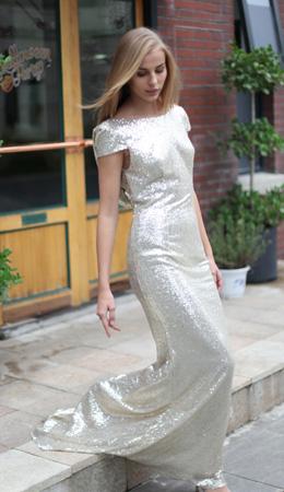 Amazon.com: Belle House Women's Sequins Ball Evening Prom