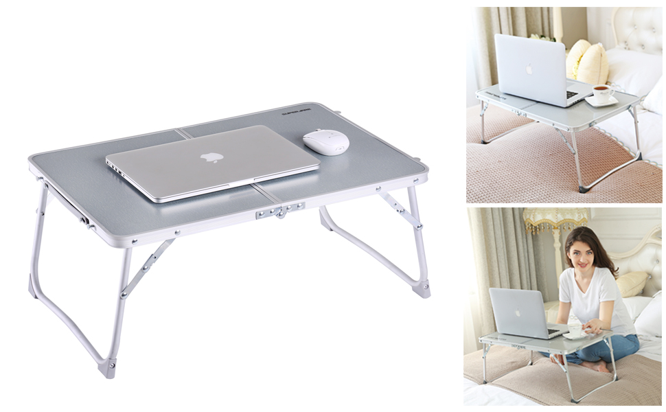 Ebay Superjare   Portable Breakfast Table Bed Tray Laptop Desk