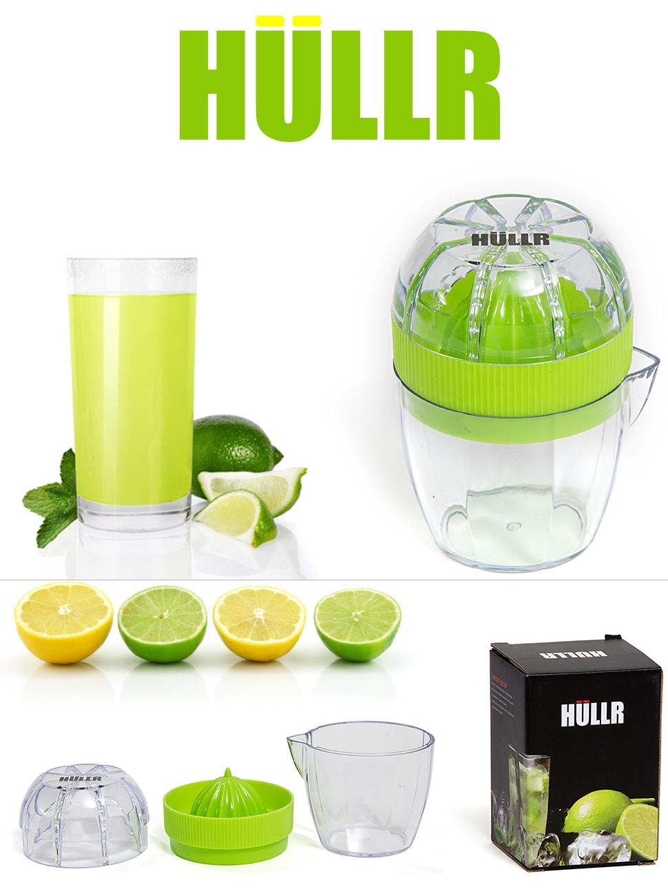 Lime Green Kitchen Appliances Amazoncom Hullr Lemon Squeezer Lime Juicer Dome Lid And Citrus