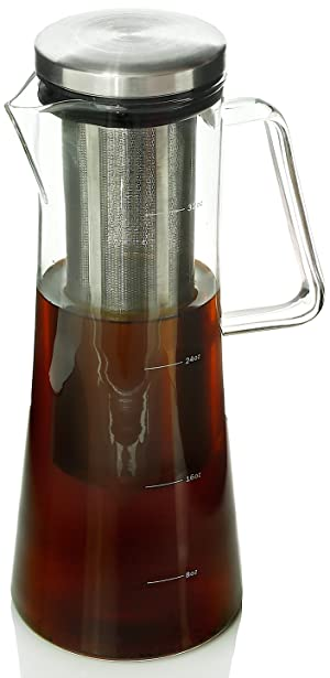 Amazon.com: Cold Brew Coffee Maker - 1 Quart Iced Coffee ...