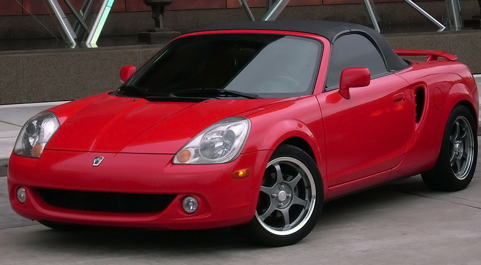Amazon Com Toyota Mr2 Convertible Top Made From Cabrio