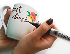 Amazon.com: Permanent Paint Pens for Glass painting