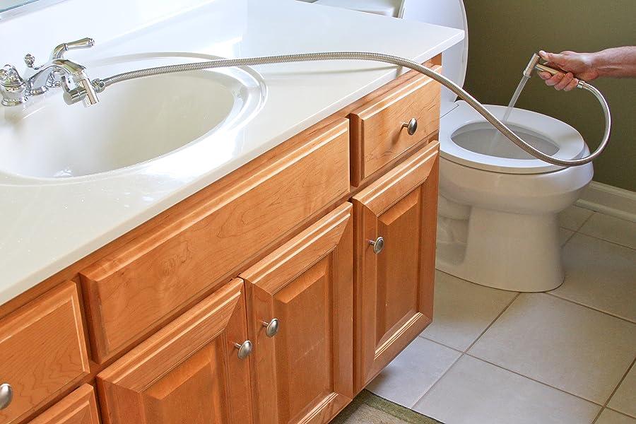 Smarterfresh Faucet Sprayer Warm Water Bidet Hot And Cold