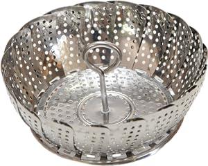 Amazon.com | Premium Vegetable Steamer Basket, fits