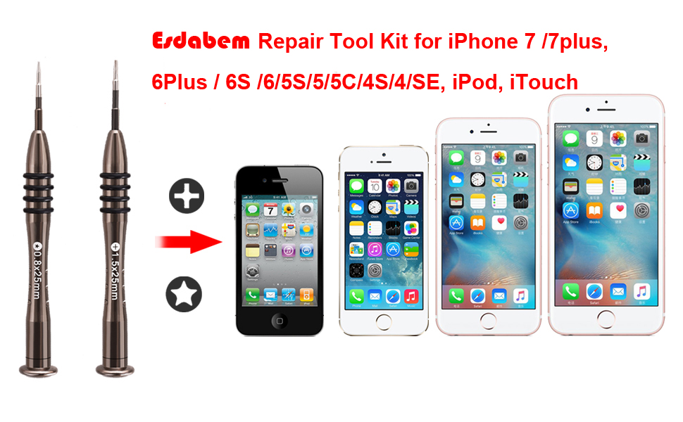 iphone 5 repair kit esdabem repair tool kit for iphone 7 8450