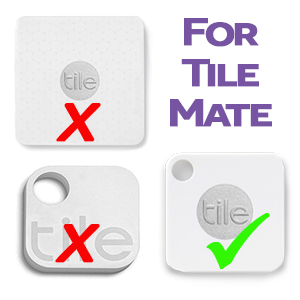 Tile Mate Gen 2 CasePhone and Item Finder Vegan Leather Key FOB Cover