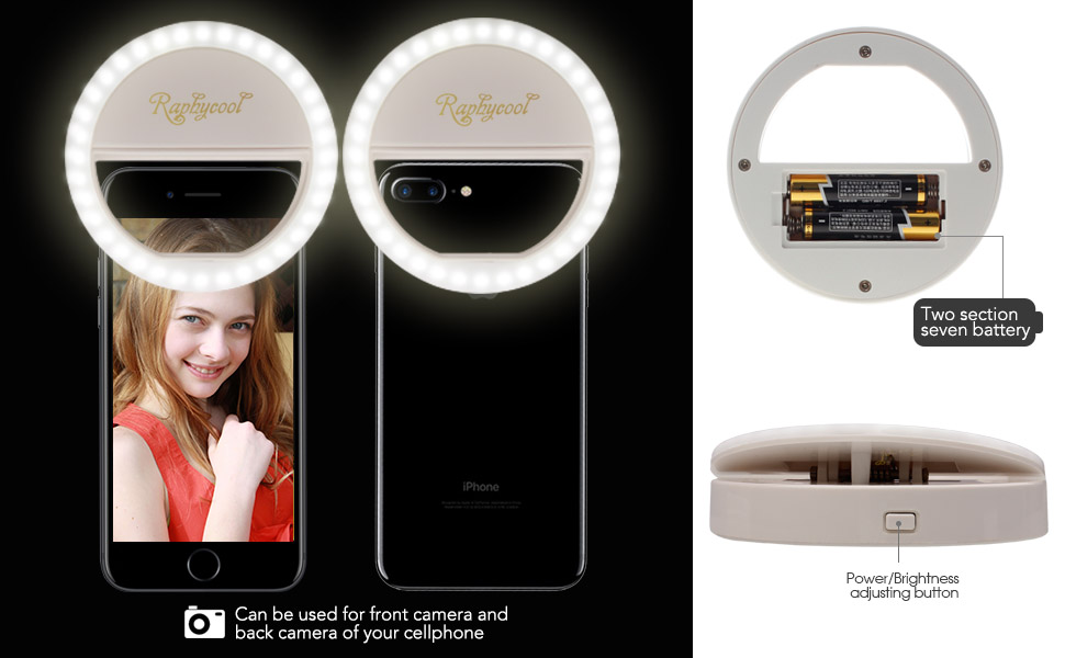 Makeup Ring And Lights: Amazon.com: Ring Light For Camera, Raphycool [36 LED