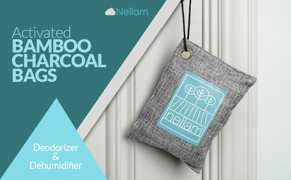Bamboo Activated Charcoal Odor Absorber