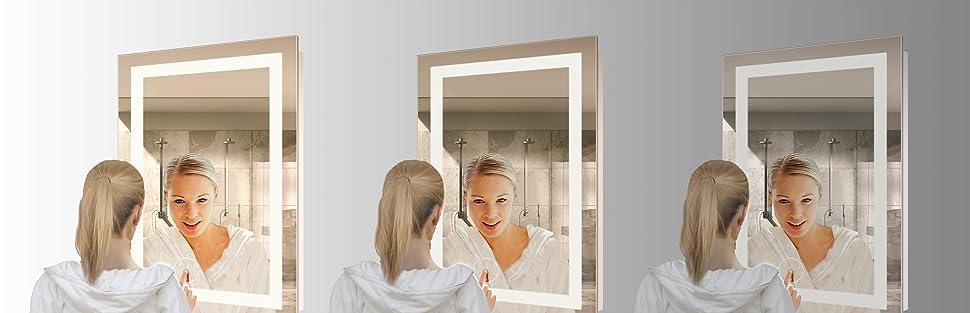 Amazon Com Led Bathroom Mirror 24 Inch X 36 Inch