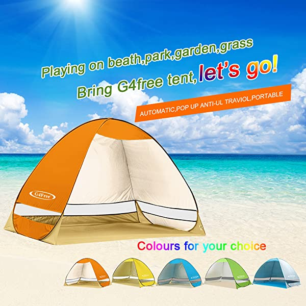 ... to English version if you have any problem during the usage  just send email we will give you solutions immediately .Your satisfaction is our target!  sc 1 st  Amazon.com & Amazon.com: G4Free Outdoor Automatic Pop up Instant Portable ...