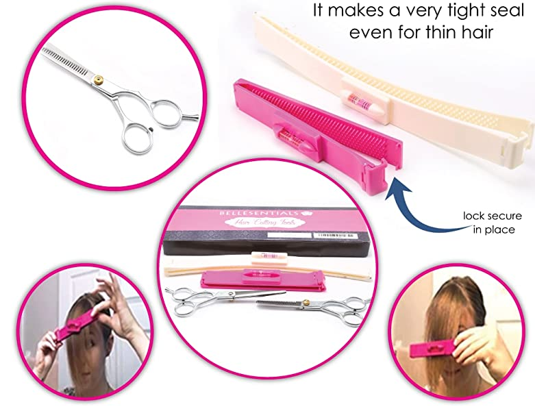 Amazon.com : Bellesentials Hair Cutting Tool - Cut Your ...