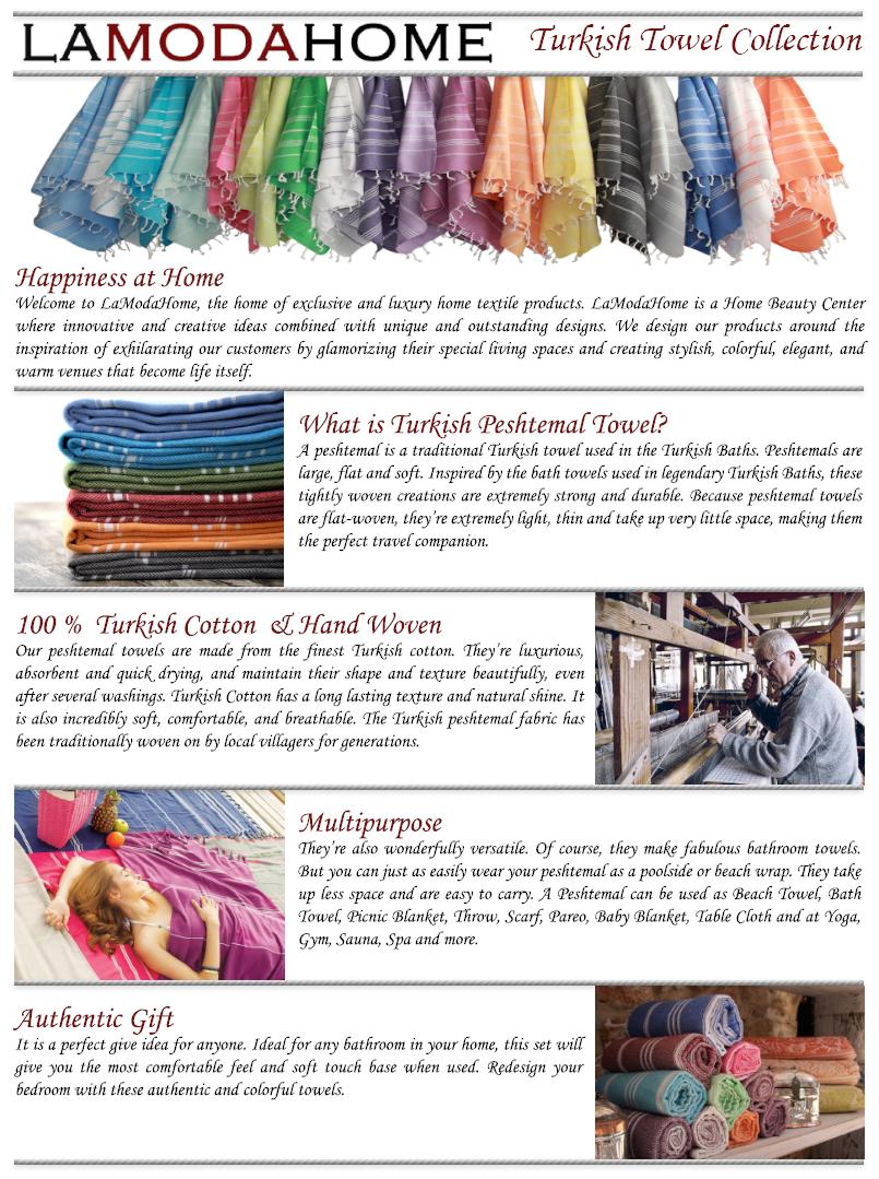 product description - Turkish Towels