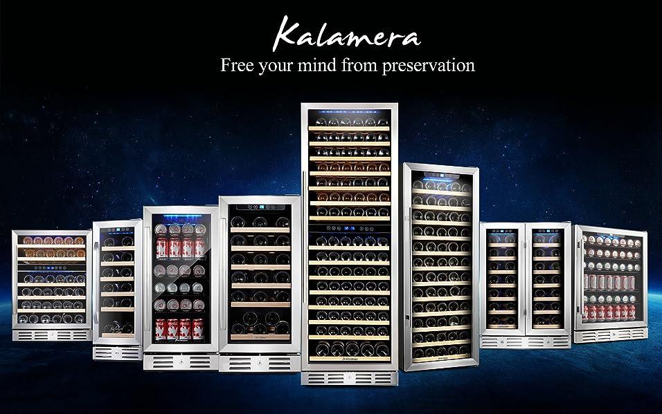 Kalamera 15 39 39 Wine Cooler 30 Bottle Built In