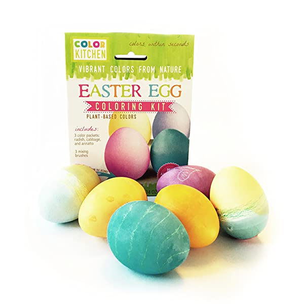 colorkitchen easter egg coloring kit vibrant colors from nature