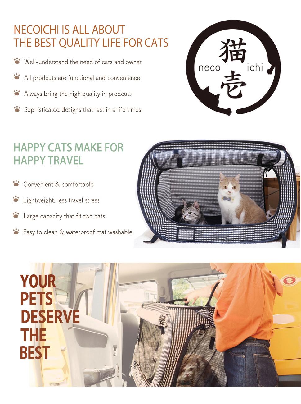 Necoichi Portable Cat Cage, Review of Necoichi Portable Cat Cage