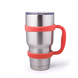 Amazon Com Strata Cups Coral 30oz Tumbler Handle For Yeti