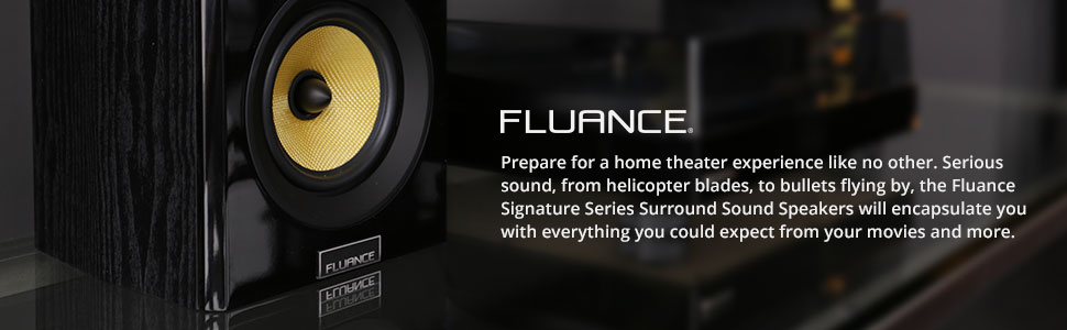 98 Fluance Unveils Av5htb Surround Sound Speaker System