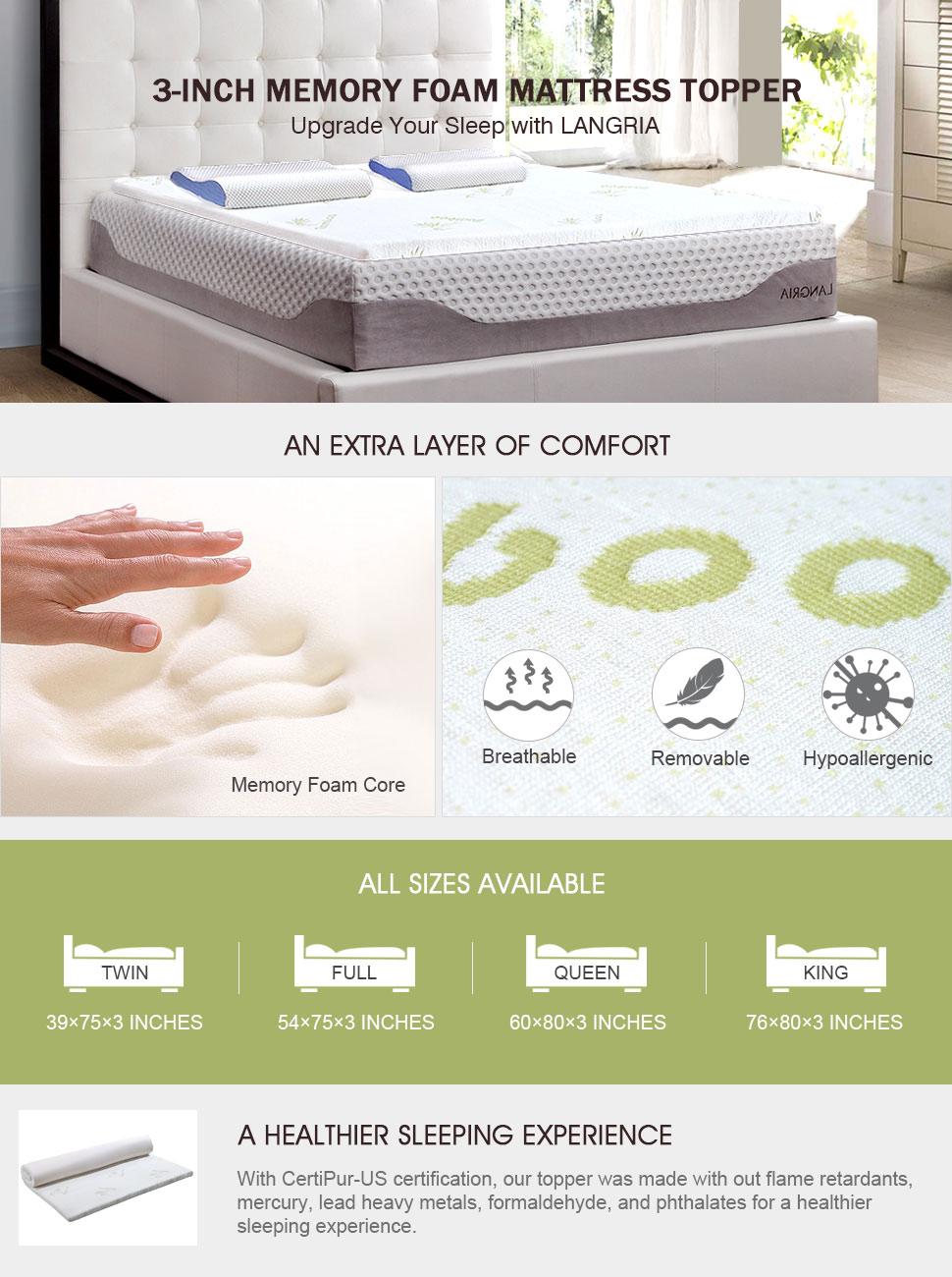 100 home design memory foam mattress pad sleep revolution 10 lane 2 amazon com beautyrest - Home design mattress pads ...