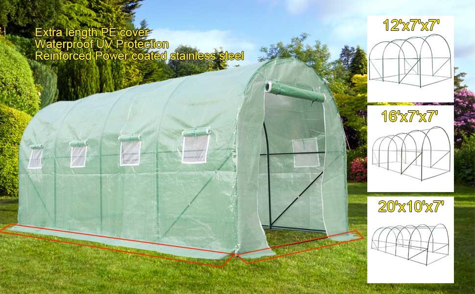 Portable Greenhouse For Patio : Amazon casun garden x portable greenhouse