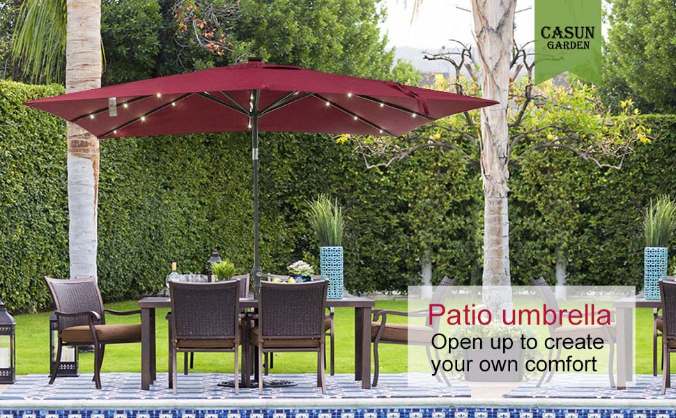 Nothing Is More Relaxing Than Enjoying A Bright, Sunny Day By The Pool, On  The Beach Or On Your Patio While Sheltered By An Outdoor Umbrella. Patio ...