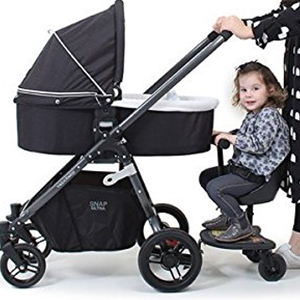 Amazon Com Vee Bee Ez Rider Stroller Ride On Board Connector With Toddler Seat Attachment Baby