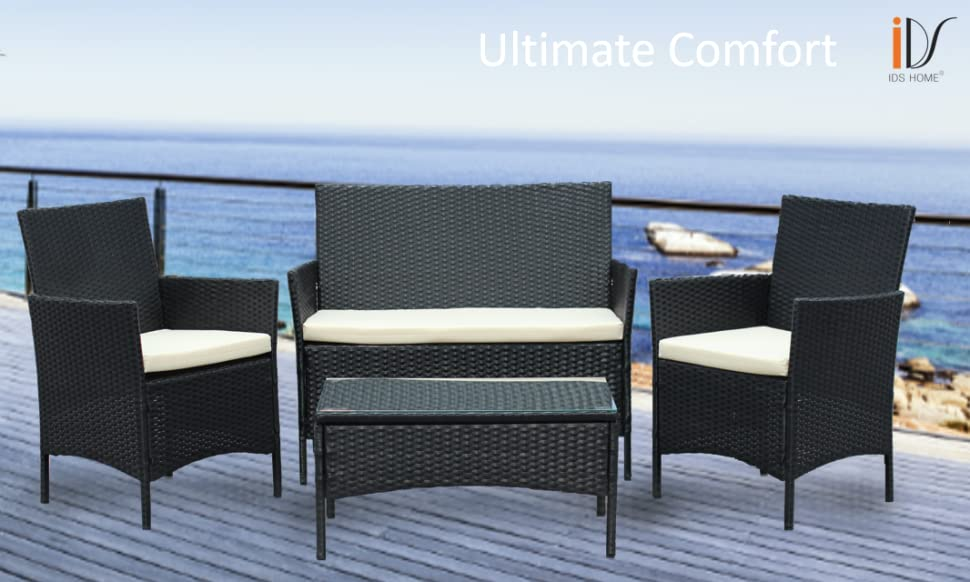Accent Your Sundeck Or Offset Your Poolside Setting With This Contemporary  And Weatherproof Design. The Table Is Featured With Tempered Glass Top  Which Is ...