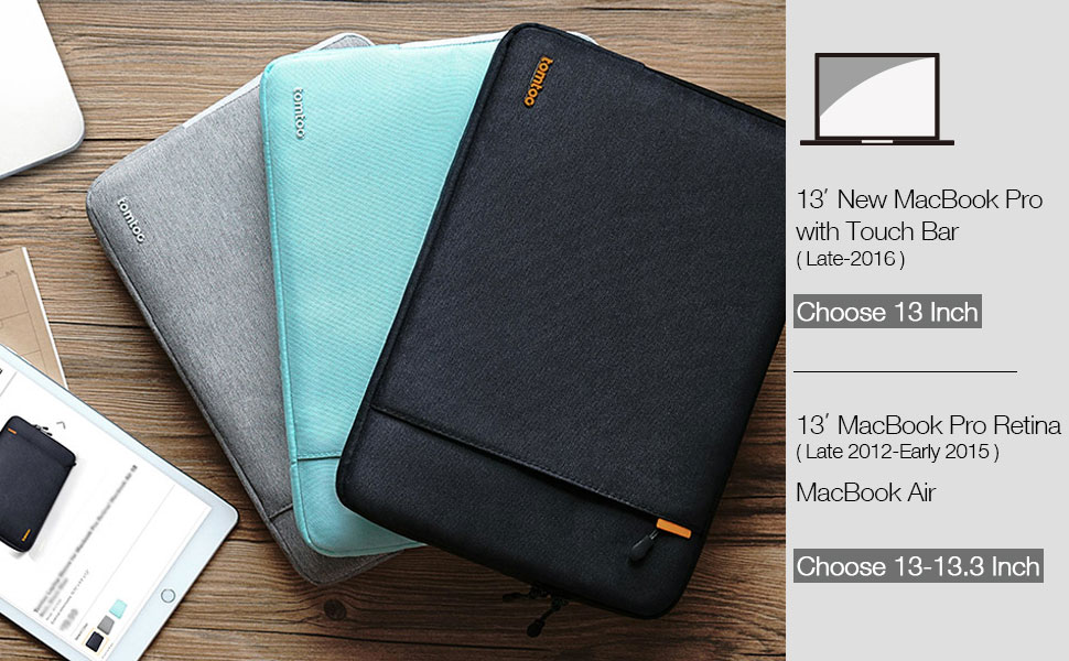 Amazon.com: Tomtoc 360° Protective Laptop Sleeve for 13 Inch New