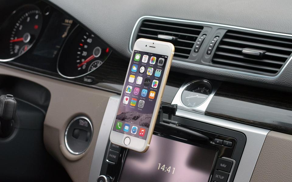 Nekteck cd slot magnetic cradleless car phone mount holder 2