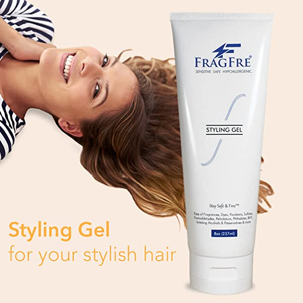 Amazon.com : FRAGFRE Styling Gel  Fragrance Free