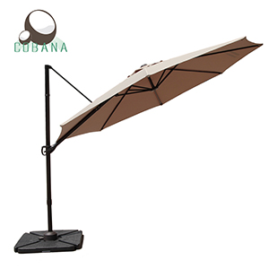The 10 Ft Cantilever Patio Umbrella Provides 79 Square Ft Of Sun  Protection, Cantilever Design Offers More Placement Versatility, Ideal For  Both Commerical ...