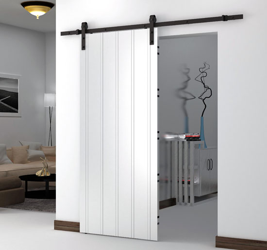 Umax 6 6 ft sliding barn wood door basic for 6 ft sliding glass door