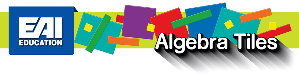 Amazon.com: EAI Education Algebra Tiles Classroom Kit: Toys & Games