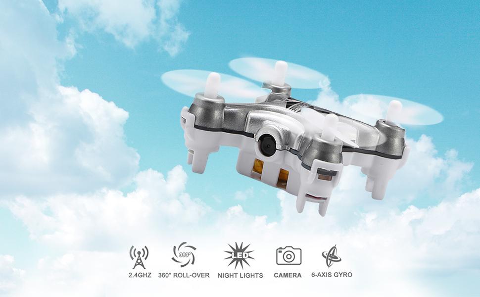 Amazon.com: EACHINE E10C Mini Quadcopter With 2.0MP Camera Remote ...