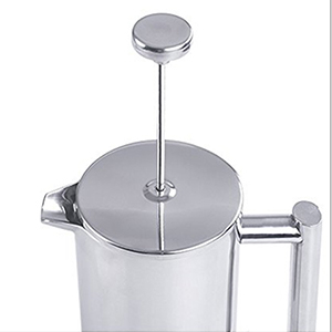 French Press Coffee Maker For Camping : French Press Double Wall Stainless Steel Coffee Maker Camping 1L Shatterproof eBay
