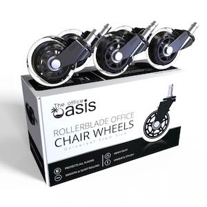 Amazon Com Office Chair Caster Wheels Set Of 5 Heavy