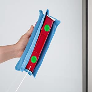 this advanced window cleaner is used by professionals to clean the exterior of windows while staying in the room it actually cleans both sides of the - Window Cleaner Job Description