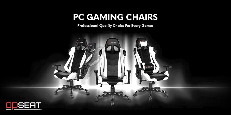 The OPSEAT Master Series Professional Pc Gaming Chairs Are Designed To  Provide The Highest Level Of Comfort And Performance With Style.
